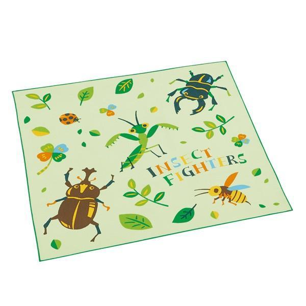 ランチクロス ナフキン インセクトファイター 子供 ( 幼稚園 保育園 ランチョンマット 昆虫 虫 お弁当包み ランチマット )
