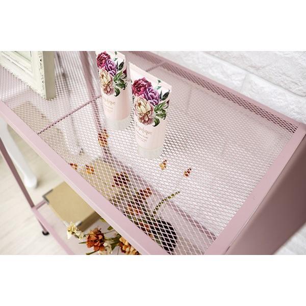 オープンラック 4段 スチールラック アースカラー 幅59cm ( 収納ラック 収納 収納棚 飾り棚 ディスプレイラック ) colorfulbox 08