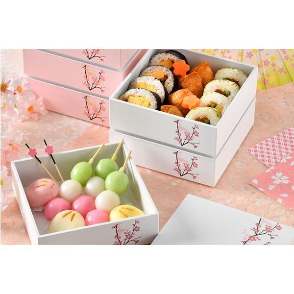 お弁当箱 3段 お重 15.0三段重 SAKURA HAKOYA 2280ml ( 弁当箱 ピクニックランチボックス ランチボックス 2〜3人用 おすすめ )|colorfulbox|05