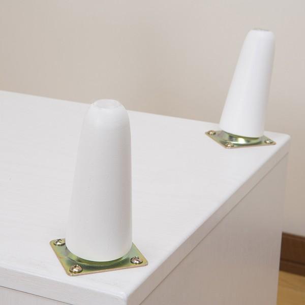 サイドテーブル 幅40cm コスメボックス ガラス天板 コンパクト コスメ アクセサリー 収納 マガジンラック ( テーブル ミニ ドレッサー ソファテーブル )|colorfulbox|14