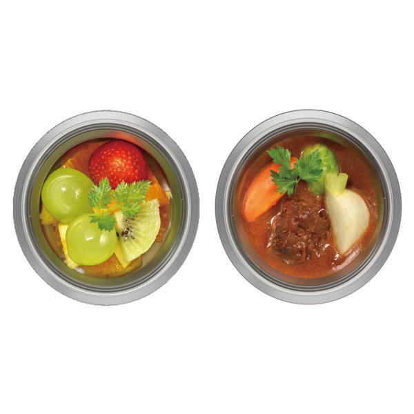 フードポット サーモス THERMOS 真空断熱スープジャー クリックオープン 300ml JBR-300 ( スープジャー 保温 保冷 弁当箱 ランチボックス )|colorfulbox|07