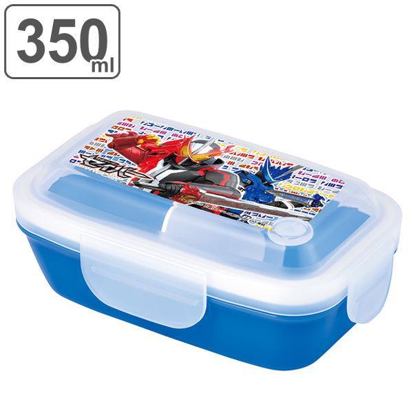 お弁当箱 1段 仮面ライダーセイバー 4点ロックドームランチボックス 350ml 子供 ( 仮面ライダー セイバー 食洗機対応 ) colorfulbox