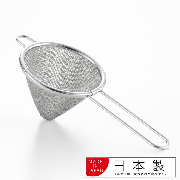 こし器 ステンレス 燕三条製 料理のいろは ミニオイルポット用渡しアミ ( 濾し器 油こし器 油濾し器 )|colorfulbox|02
