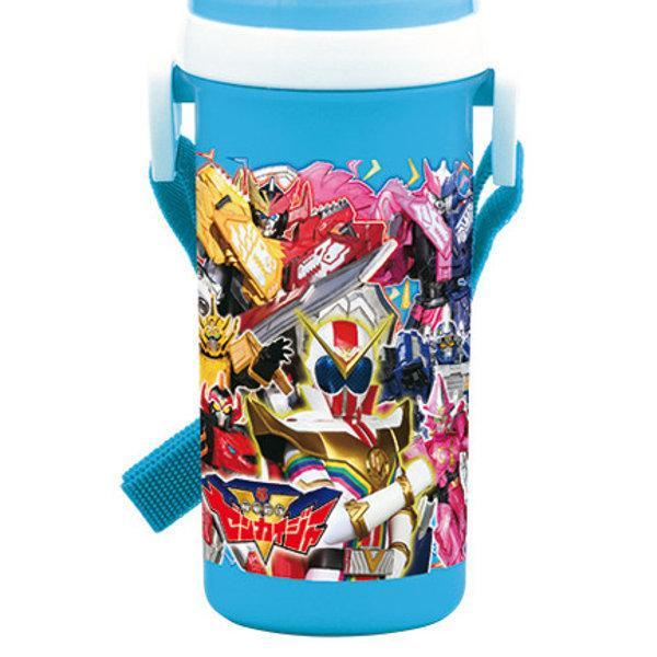 水筒 機界戦隊ゼンカイジャー コップ付 直飲み 2way プラスチック 500ml 子供 ( ゼンカイジャー 食洗機対応 軽量 ) colorfulbox 02