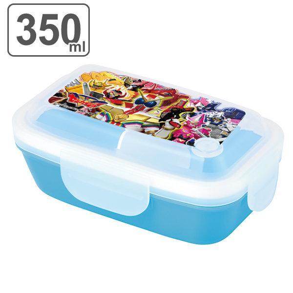お弁当箱 機界戦隊ゼンカイジャー 1段 4点ロック ドームランチボックス 350ml ( ゼンカイジャー 弁当箱 レンジ対応 食洗機対応 )|colorfulbox