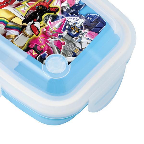 お弁当箱 機界戦隊ゼンカイジャー 1段 4点ロック ドームランチボックス 350ml ( ゼンカイジャー 弁当箱 レンジ対応 食洗機対応 )|colorfulbox|03