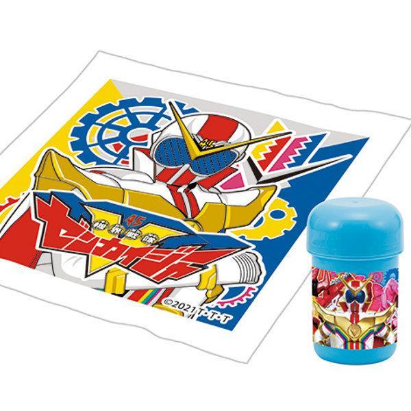 おしぼりセット 機界戦隊ゼンカイジャー おしぼり ケース 子供 ( ゼンカイジャー おしぼりタオル おしぼりケース )|colorfulbox