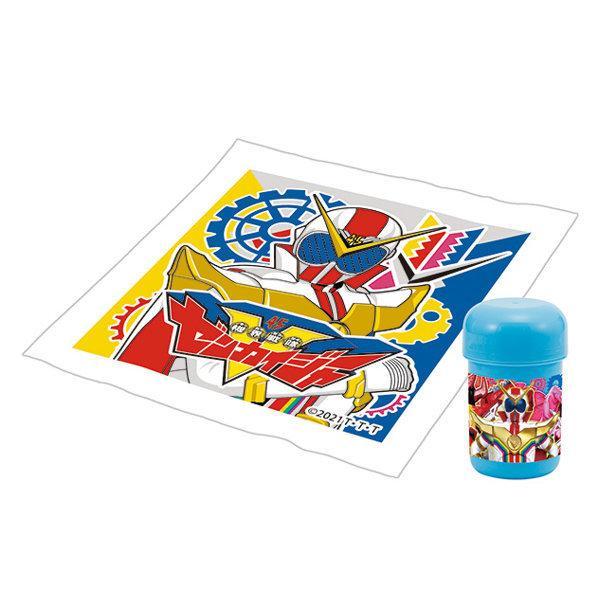 おしぼりセット 機界戦隊ゼンカイジャー おしぼり ケース 子供 ( ゼンカイジャー おしぼりタオル おしぼりケース )|colorfulbox|02
