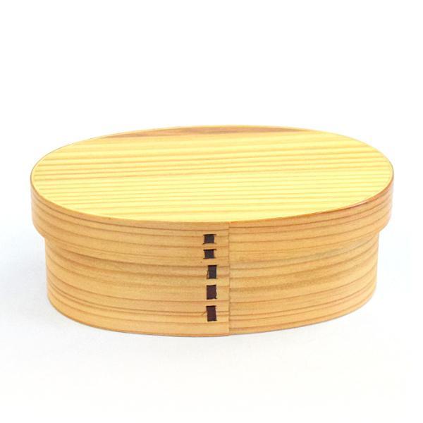 弁当箱 曲げわっぱ 抗菌 400ml 1段 S ( お弁当箱 木製 漆塗り わっぱ弁当 弁当 お弁当 小判型 )|colorfulbox|18