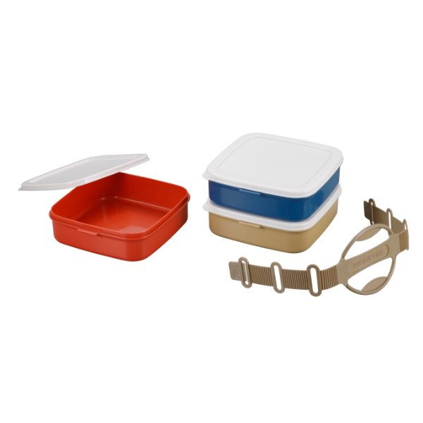 お弁当箱 3段 ランチボックス ピクニック CAPTAIN STAG キャプテンスタッグ ( 行楽弁当 重箱 お重 弁当箱 ランチボックス レンジ対応 食洗機対応 )|colorfulbox|03