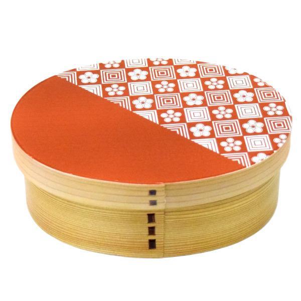 お弁当箱 曲げわっぱ 600ml ウレタン Kutan 梅畳 ( 弁当箱 ランチボックス 1段 わっぱ 弁当 お弁当 小判型 九谷五彩 )|colorfulbox|16