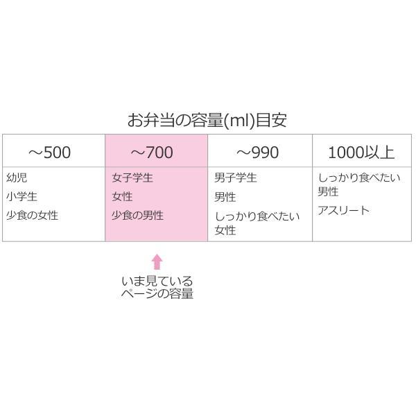 お弁当箱 曲げわっぱ 700ml 豆型 大 ( 木製 ランチボックス 弁当箱 一段 わっぱ 女子 )|colorfulbox|04