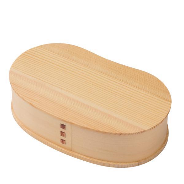 お弁当箱 曲げわっぱ 700ml 豆型 大 ( 木製 ランチボックス 弁当箱 一段 わっぱ 女子 )|colorfulbox|05