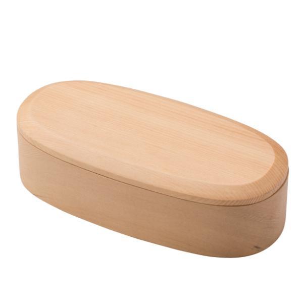 お弁当箱 1段 450ml 木製 くりぬき スリム ランチボックス ( 弁当箱 一段 くり抜き 女子 大人 日本製 )|colorfulbox|02