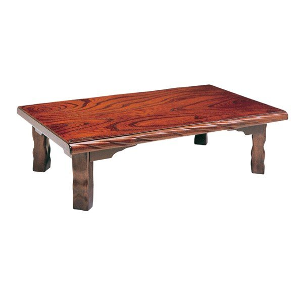 座卓 折れ脚 ローテーブル 若草 幅105cm ( 折りたたみ ケヤキ 突板仕上げ 欅 日本製 ちゃぶ台 センターテーブル )