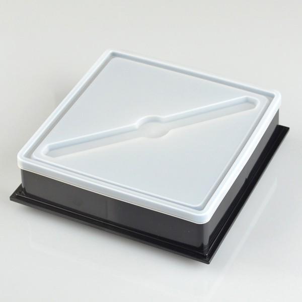 お弁当箱 ピクニックランチボックス 18cm オードブル重 2段 和もよう 和紋 2550ml お重 ( 弁当箱 仕切り付 おすすめ ) colorfulbox 06