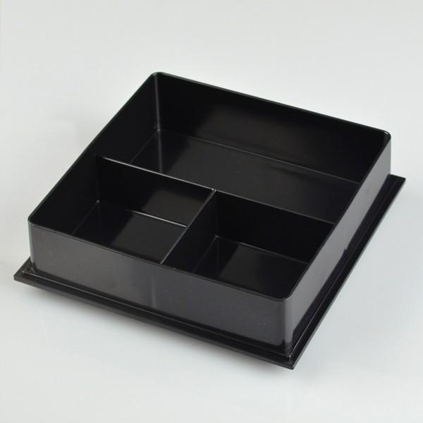 ランチボックス お弁当箱 宇野千代 18cm オードブル重 三段 あけぼの桜 ( 弁当箱 仕切り付 ) colorfulbox 04