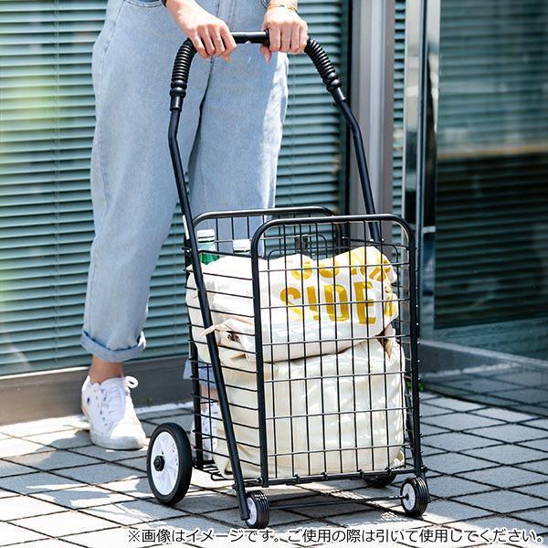 ショッピングカート 折りたたみ 4輪 大容量 おしゃれ シンプル キャリーカート ( ワイヤーカート スチール製 ワイヤー カート 買い物カート ショッピング ) colorfulbox 11