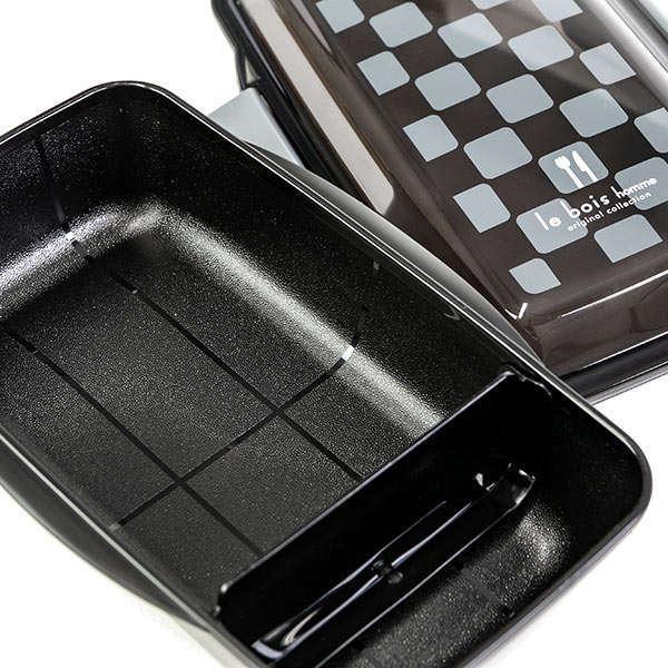 お弁当箱 1段 深型 メンズドームランチボックス ル・ボア オム 750ml ( 弁当箱 食洗機対応 レンジ対応 ドーム型 仕切り付 ) colorfulbox 12