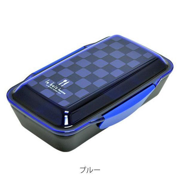 お弁当箱 1段 深型 メンズドームランチボックス ル・ボア オム 750ml ( 弁当箱 食洗機対応 レンジ対応 ドーム型 仕切り付 ) colorfulbox 04