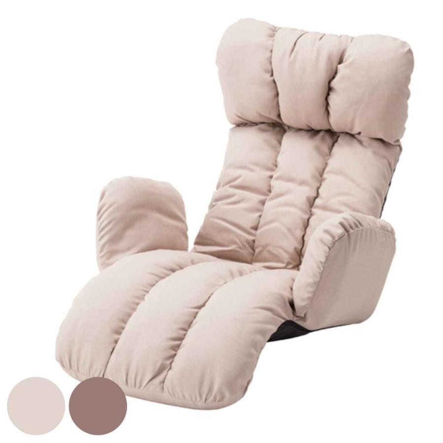 リクライニングチェア うたた寝チェアー ハイバック 折りたたみ式 幅78cm ( チェア チェアー 座椅子 座椅子 椅子 リクライニングソファ )