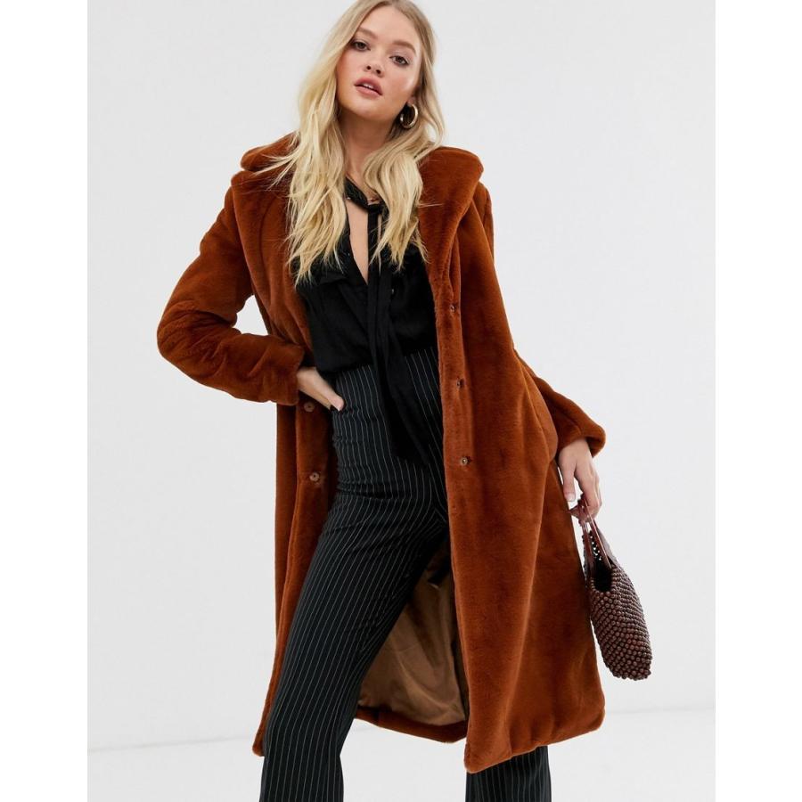 超歓迎された ヴィラ コート レディース Vila longline faux fur jacket エイソス ASOS, 株式会社 大橋貿易 e55fa945