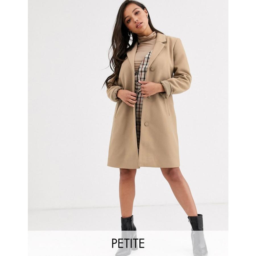 おすすめネット ヴィラ コート レディース Vila Petite oversized coat エイソス ASOS ベージュ, JOYPOWER 247a9033