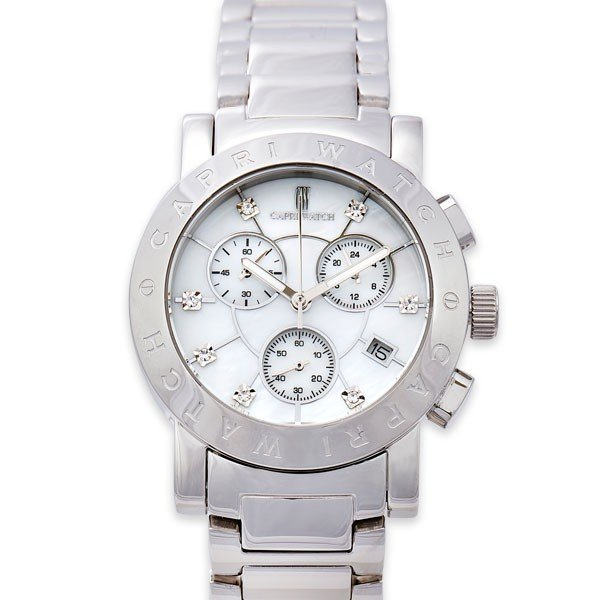 贅沢屋の カプリウォッチ Capri watch パオラ 腕時計 ウォッチ ホワイト Art. 5199 レディース メンズ ユニセックス 女性 男性 男女兼用, Shine Mart(シャインマート) 9e59f13c