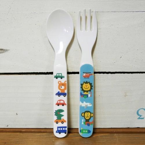 DECOLE デコレ メラミンランチ5pcs ギフトセット PONOZKY ポノシュキー ブルー メラミン食器 colors-kitchen 06