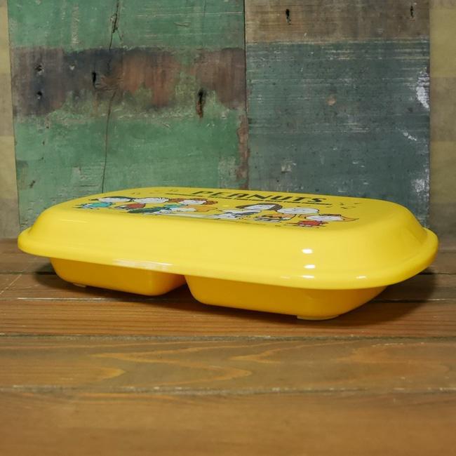 スヌーピー フタ付きランチプレート 子供食器 SNOOPY PEANUTS メラミン食器 colors-kitchen 02