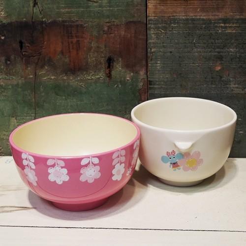 Rub a dub dub 茶碗 汁椀 セット うさぎ ラブアダブダブ ベビー食器 colors-kitchen 03