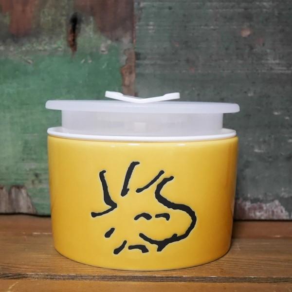スヌーピー フェイス レンジパック 4点セット SNOOPY 保存容器|colors-kitchen|03