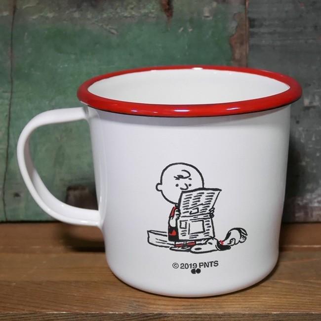 スヌーピー 琺瑯 マグカップ PEANUTS SNOOPY ホーロー コップ colors-kitchen 03