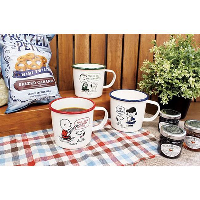 スヌーピー 琺瑯 マグカップ PEANUTS SNOOPY ホーロー コップ colors-kitchen 10