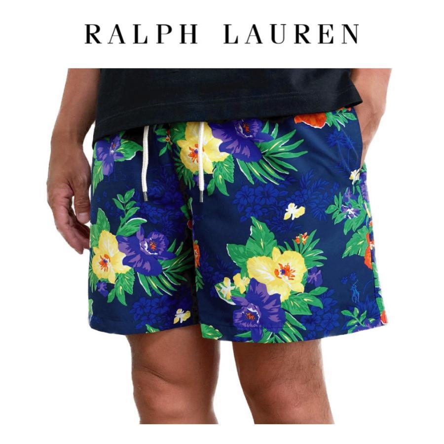 ポロ ラルフローレン 水着 スイムウェア 花柄 Polo Ralph Lauren メンズ MENS ネイビーマルチ