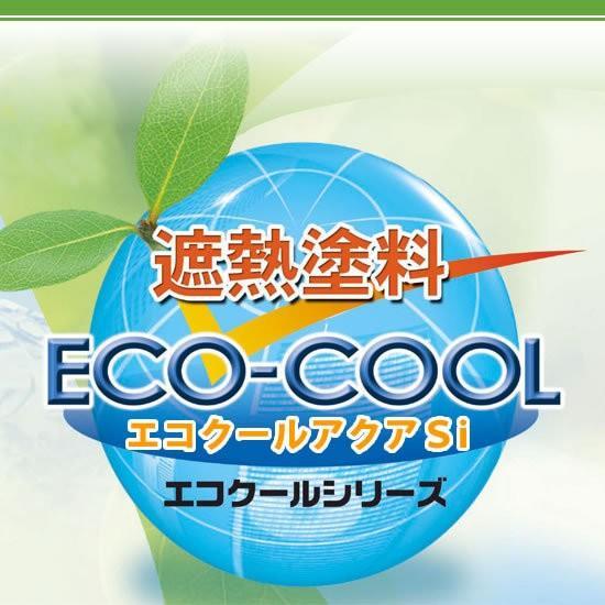 【送料無料】 水性シリコン樹脂系遮熱塗料 エコクールアクアSi 壁用カラー [15kg] 大日本塗料