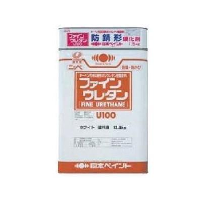 【送料無料】 防錆形ファインウレタンU100 (ND-011)つや有 [15kgセット] 日本ペイント colour-harmony
