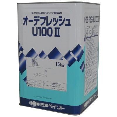 【送料無料】 ニッペ オーデフレッシュU100 2 白(ND-101) [15kg] 日本ペイント