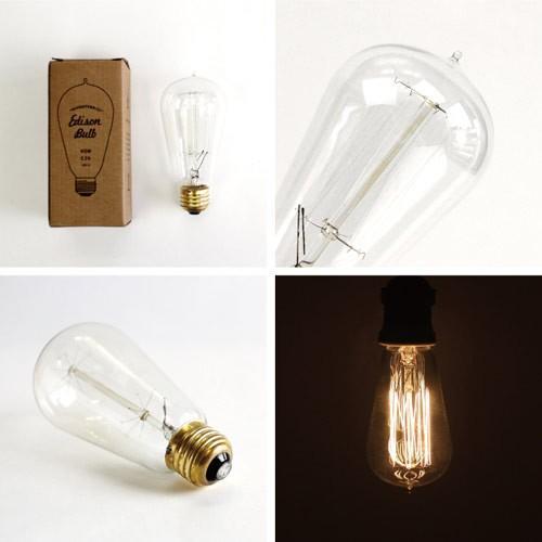 電球 レトロ おしゃれ エジソンバルブ シグネチャー (S)  40W  E26  Edison Bulb  エジソン電球 インテリア 間接照明 アメリカン雑貨|colour|04