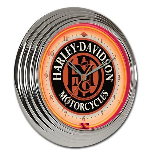 HARLEY-DAVIDSON ハーレーダビッドソン HDMC ネオンクロック HDL-16624