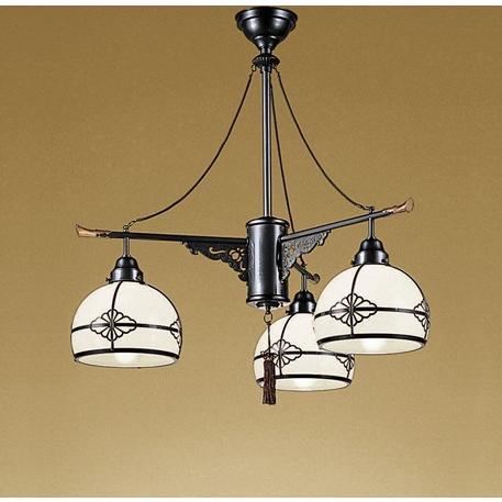 オーデリック 和風LEDペンダント 白熱灯100Wx3灯相当 調光 電球色:OC125011LC1