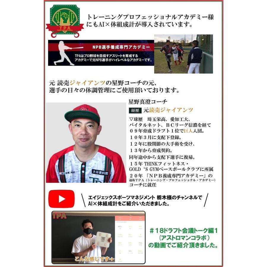 AI× 体組織計 体重計 スマホ連動 体脂肪計 高精度 体重/体脂肪率/水分率/基礎代 など13項目測定 を専用アプリに表示 InFITアプリと連動 comfortablegoods 06