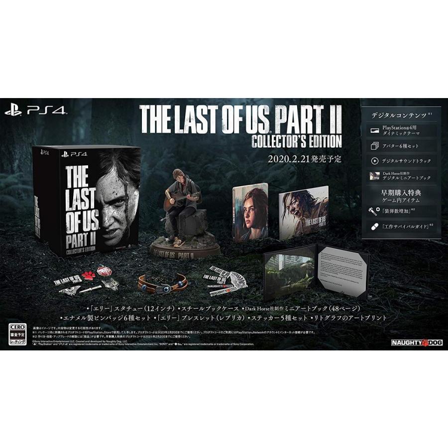 新品 PS4ソフト The Last of Us Part II コレクターズエディション