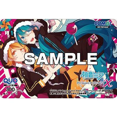 ■新品■ Vita 初音ミク -Project DIVA- X【COMG!オリジナルクオカード付】|comgstore|02