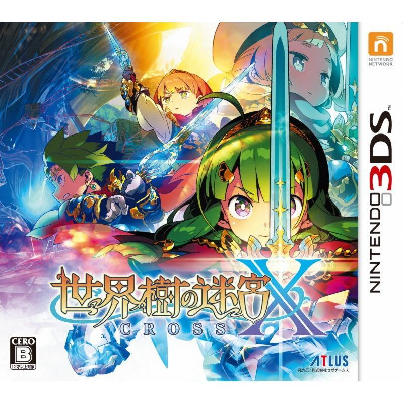 オリ特付 3DS 新品 世界樹の迷宮X(クロス) COMG!オリジナルクオカード付|comgstore
