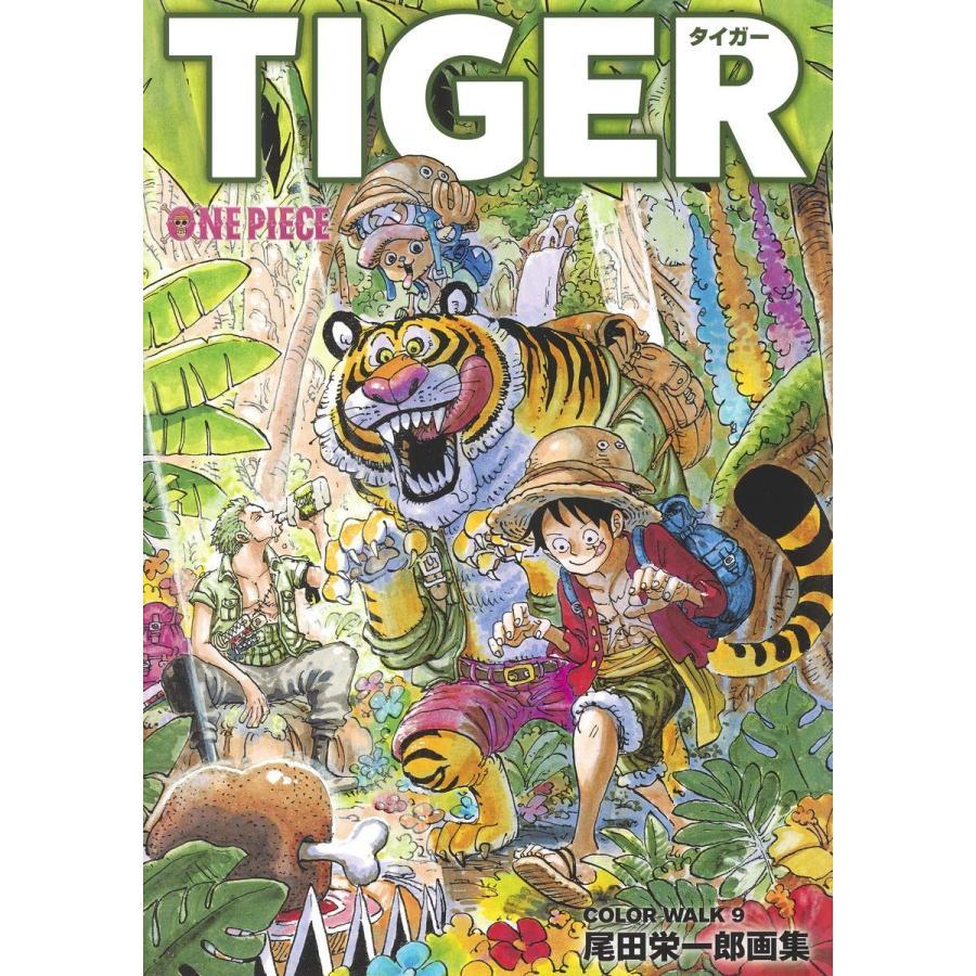 ONEPIECEイラスト集 COLORWALK 9 TIGER comicmatomegai