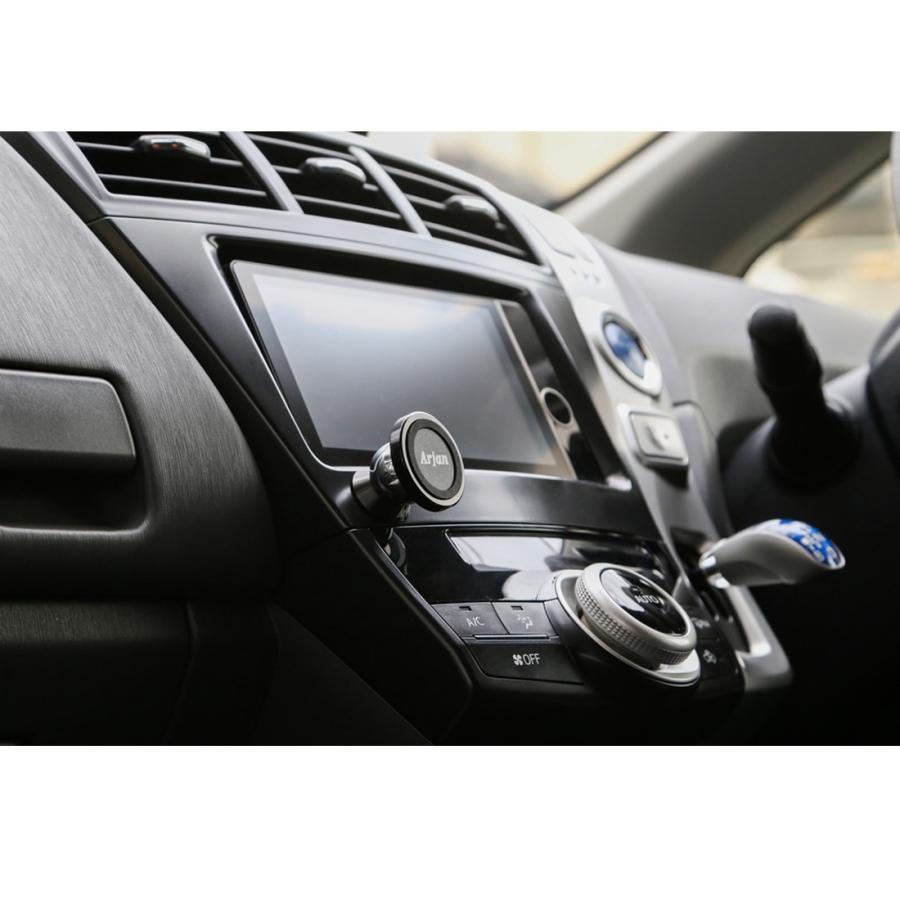 スマホホルダー 車 車載ホルダー スマホスタンド マグネット 携帯ホルダー スマートフォンホルダー|commers-shop|05