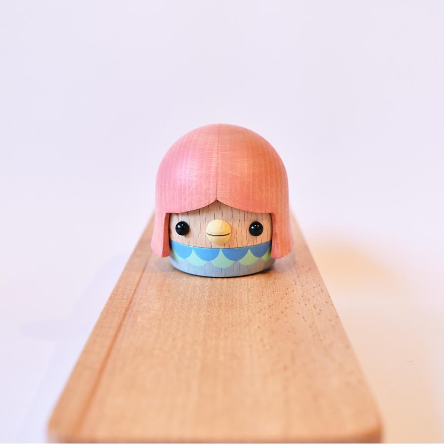 こまむぐ公式・限定商品 アマビエどんぐり 木のおもちゃ 日本製 知育 木育 疫病退散 どんぐりころころ |comomg