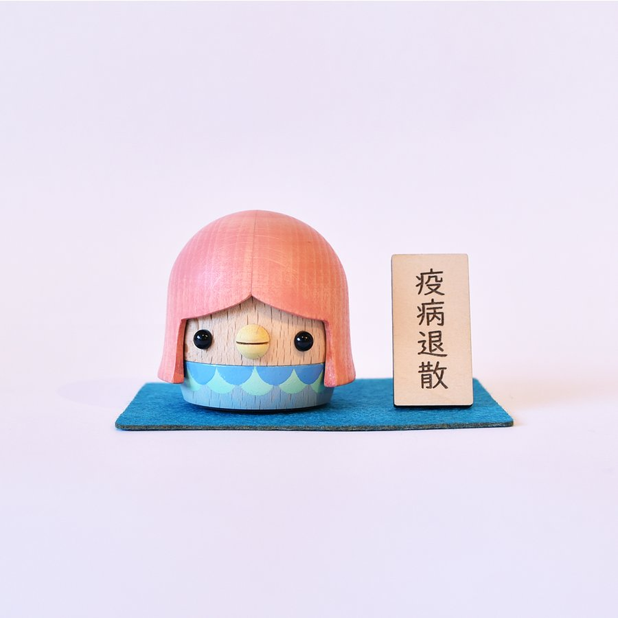 こまむぐ公式・限定商品 アマビエどんぐり 木のおもちゃ 日本製 知育 木育 疫病退散 どんぐりころころ |comomg|08