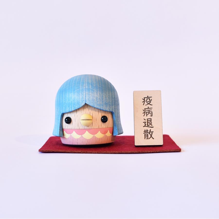 こまむぐ公式・限定商品 アマビエどんぐり 木のおもちゃ 日本製 知育 木育 疫病退散 どんぐりころころ |comomg|09
